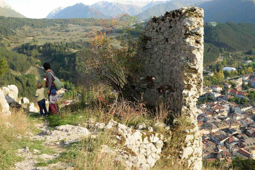 Escursione a Castel Mancino di Pescasseroli