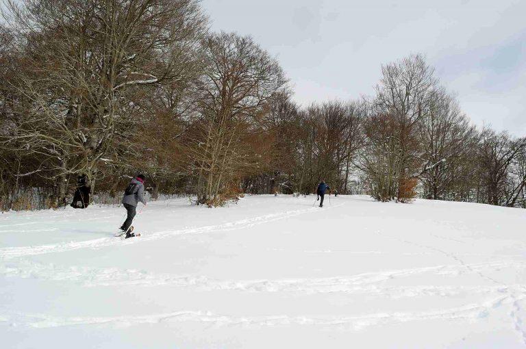 escursioni con ciaspole nel parco d'abruzzo